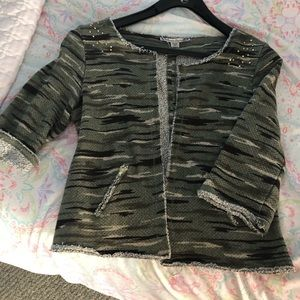 5/$25 BTS  American Rag with an army camo jacket!
